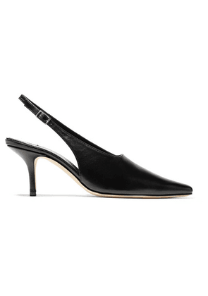 DORATEYMUR - Groupie Leather Slingback Pumps - Black
