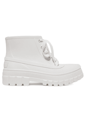 Givenchy - Glaston Rubber Ankle Boots - White