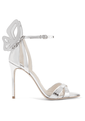 Sophia Webster - Madame Chiara Metallic Leather Sandals - Silver