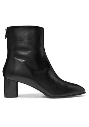 aeyde - Florence Leather Ankle Boots - Black