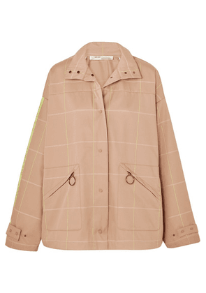 Off-White - Checked Twill Jacket - Beige