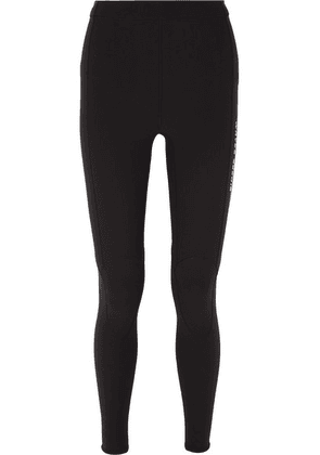 AMBUSH® - Printed Neoprene Leggings - Black