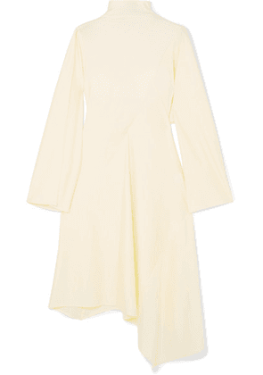 AMBUSH® - Asymmetric Stretch-jersey Midi Dress - Off-white