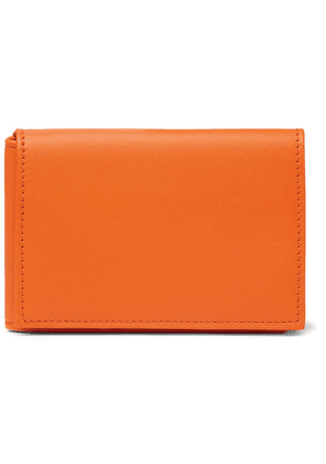 Foundwell - Leather Trifold Wallet - Orange