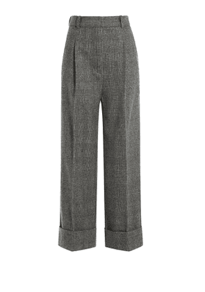 3.1 Phillip Lim High Waist Cropped Wool Trousers