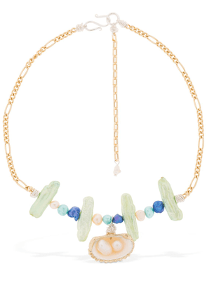 Lady Marmalade Pearl & Shell Necklace