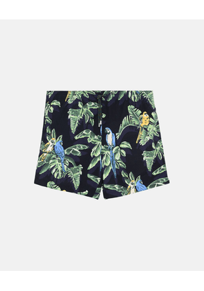 Stella McCartney Black Medium-length Paradise Print Swim Shorts, Men's, Size 34