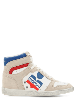 35mm Bayten Leather High Top Sneakers