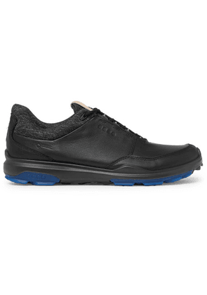 Ecco Golf - Biom Hybrid 3 Leather Golf Shoes - Black