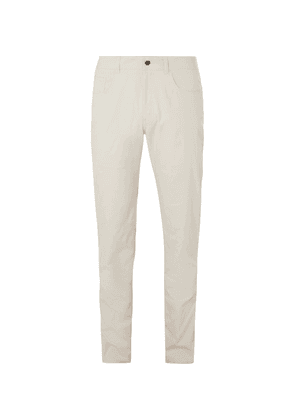 Dunhill Links - Slim-fit Twill Golf Trousers - Off-white