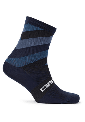 Castelli - Free Kit 13 Stretch-nylon Socks - Storm blue