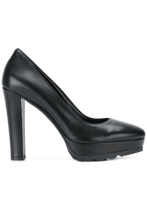 Albano platform pumps - Black