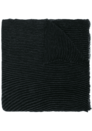 Botto Giuseppe long plain scarf - Black