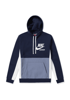 Nike Archive Pullover Hoody Obsidian, Armory Blue & Sail
