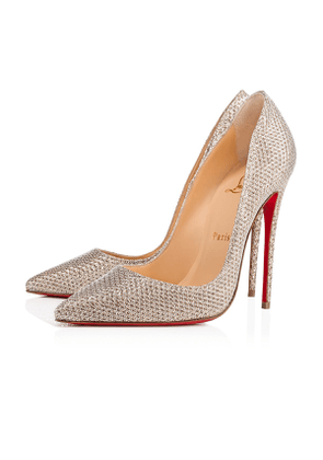 Christian Louboutin So Kate Glitter Diams 120 Colombe Glitter - Women Shoes