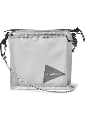 And Wander - Dyneema Pouch - White