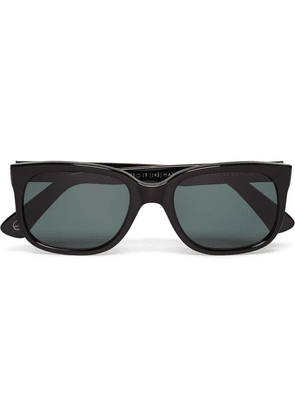 50c414c8b2 Kingsman - + Cutler   Gross Square-frame Acetate Sunglasses - Black