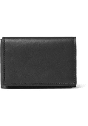 Foundwell - + Gitman Vintage Leather Trifold Wallet - Black
