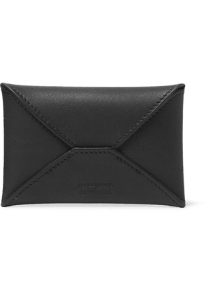 Foundwell - + Gitman Vintage Leather Cardholder - Black