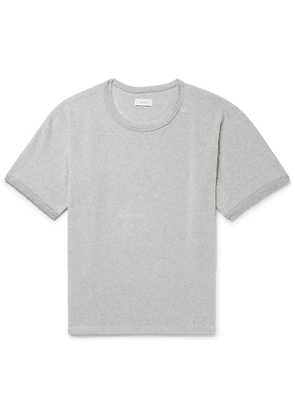 Fanmail - Organic Cotton-velour T-shirt - Gray