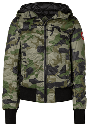 Canada Goose - Dore Camouflage-print Hooded Shell Down Jacket - Army green