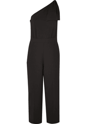 J.Crew - Jackpot One-shoulder Crepe Jumpsuit - Black