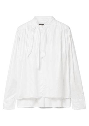 Isabel Marant - Demmo Tie-detailed Crepe De Chine Blouse - White