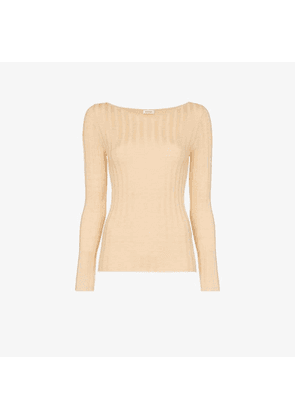 82885beac7fdcd Toteme Toury ribbed wool and cashmere top