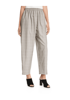 Wool-Silk Japanese Trousers