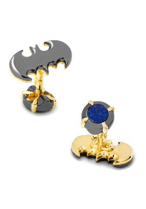 3D Batman Logo Cuff Links