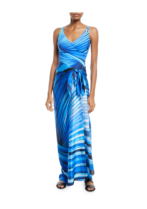 Northern Lights Printed Coverup Pareo