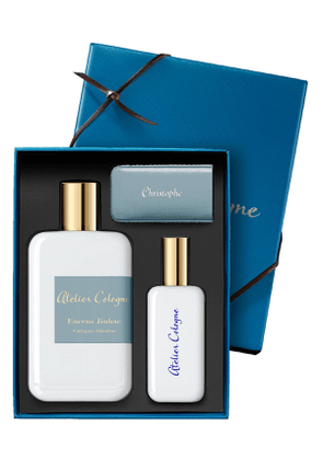 Exclusive Encense Jinhae Cologne Absolue, 200 mL with Personalized Travel Spray, 1.0 oz./ 30 mL