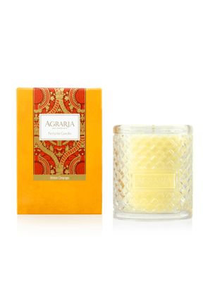 Bitter Orange Woven Crystal Perfume Candle, 7 oz.