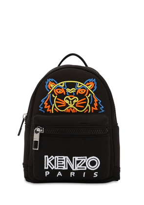 Tiger Embroidered Mini Neoprene Backpack