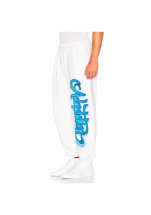 Adaptation Sweatpants in White