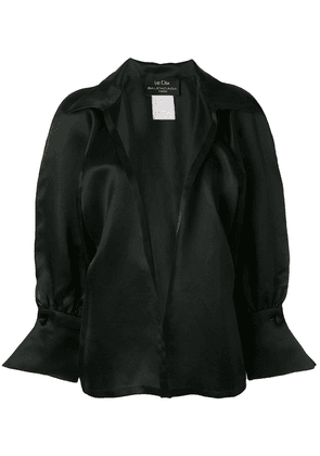 Balenciaga Vintage loose belted shirt - Black