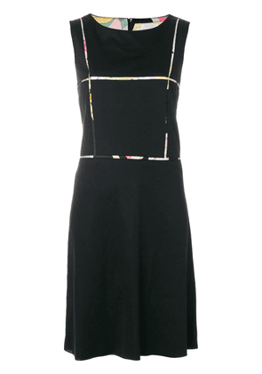Emilio Pucci Vintage sleeveless shift dress - Black