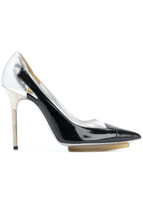 Balenciaga Vintage high platform pumps - Metallic
