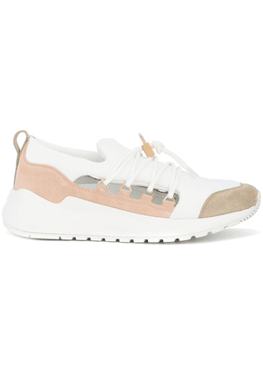 Buscemi panelled lace-up sneakers - Pink