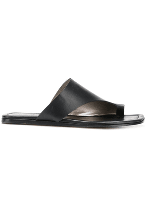 Agl toe strap sandals - Black