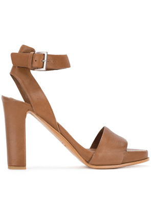 Del Carlo heeled sandals - Brown