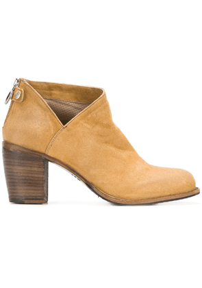 Fiorentini + Baker cut-out detail zip ankle boots - Neutrals