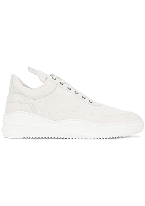 Filling Pieces platform sole sneakers - White