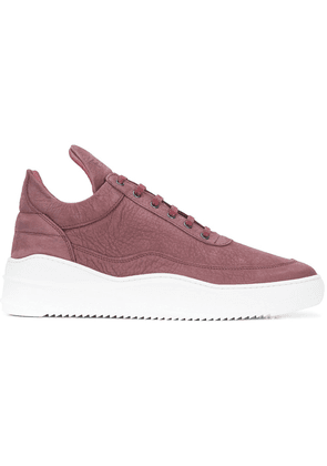 Filling Pieces platform sole sneakers - Red