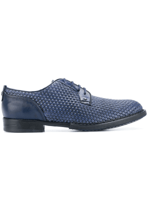 Brimarts woven derby shoes - Blue