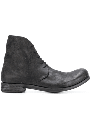 A Diciannoveventitre D3 destroyed boots - Brown