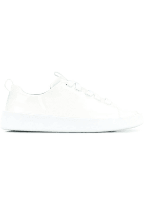 Camper Lab patent lace-up sneakers - White