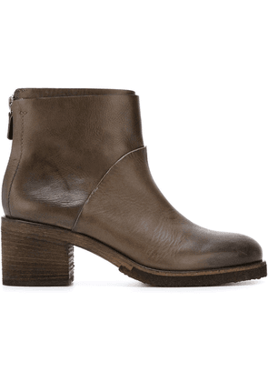 Del Carlo ankle boots - Brown