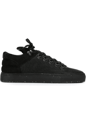 Filling Pieces 'Mountain Cut' mesh panel sneakers - Black