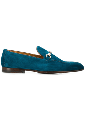 Doucal's buckled loafers - Blue